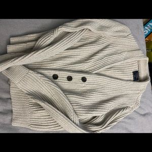 Chunky button up cardigan size medium